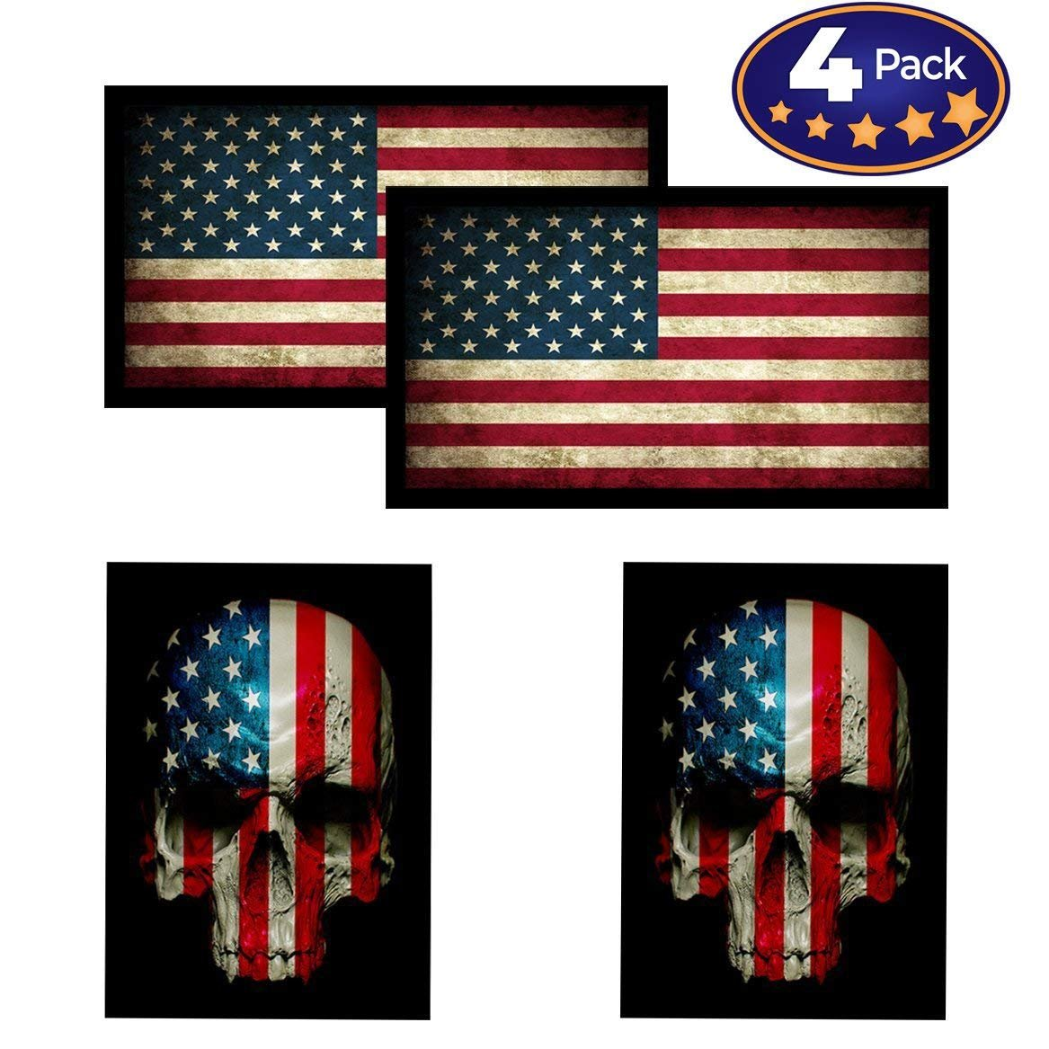 Hard Hats 2-pack 2 DOT Approved Motorcycle Helmet Stickers \ Decals \ D.O.T
