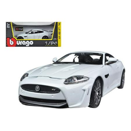 Jaguar XKR-S White 1/24 Diecast Car Model by (Xkr Models)