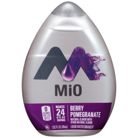 - (12 Pack) MiO Berry Pomegranate Liquid Water Enhancer, 1.62 fl oz Bottle