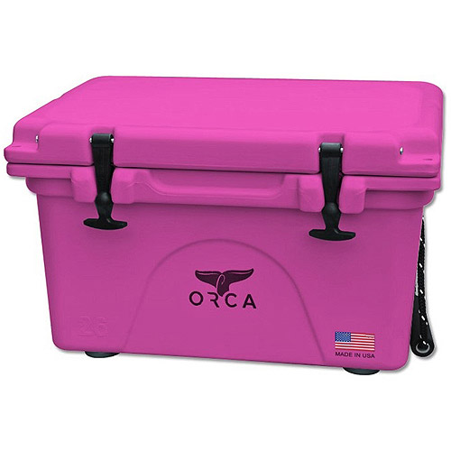 COOLER 20 QUART PINK INSULATED