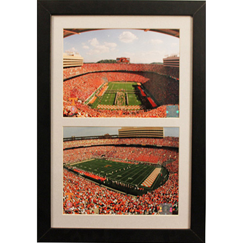 NCAA Tennessee Double Custom Frame, 12x18