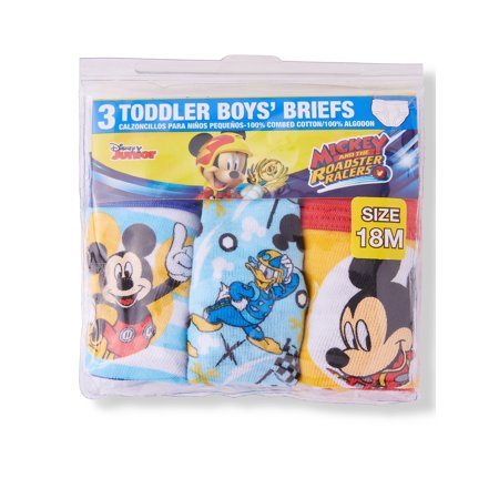 Mickey Mouse Briefs, 3-Pack (Toddler Boys)