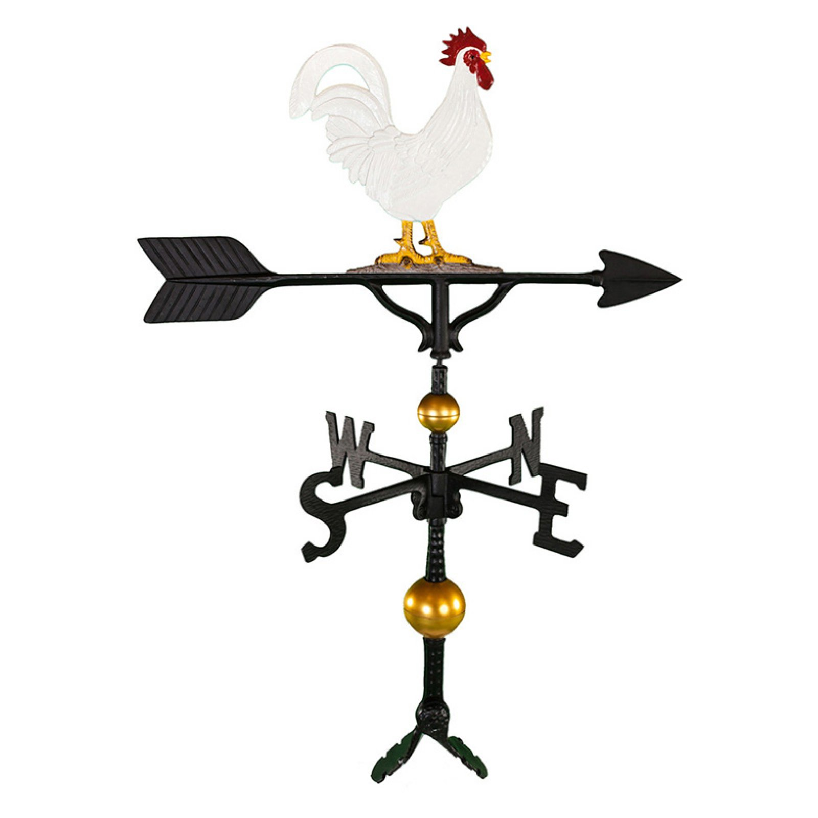 Deluxe Color Rooster Weathervane 32 in. by Weathervanes