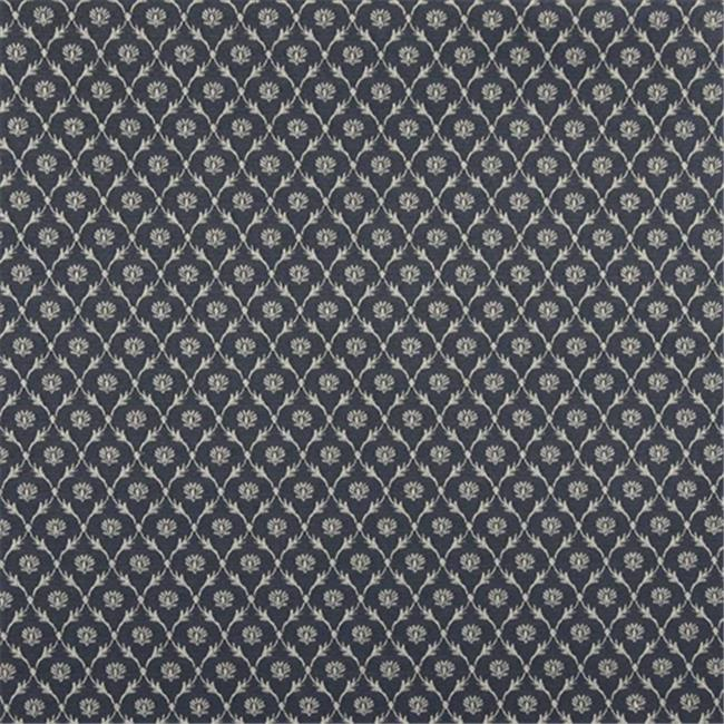 Designer Fabrics B637 54 in. Wide Green, Floral Trellis Jacquard Woven Upholstery Fabric