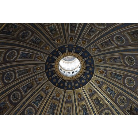 LAMINATED POSTER St Peters Basilica Dome Vatican Catholic Interior Poster Print 24 x 36
