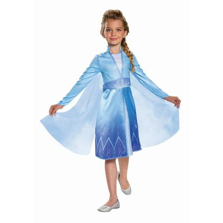 Disguise Disney Frozen 2 Elsa Classic Toddler Halloween Costume