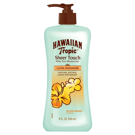 Hawaiian Tropic Sheer Touch Island Mango After Sun Moisturizer - 8 Ounces