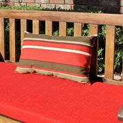 Blazing Needles Rectangular Outdoor Lumbar Pillow (Set of 2)