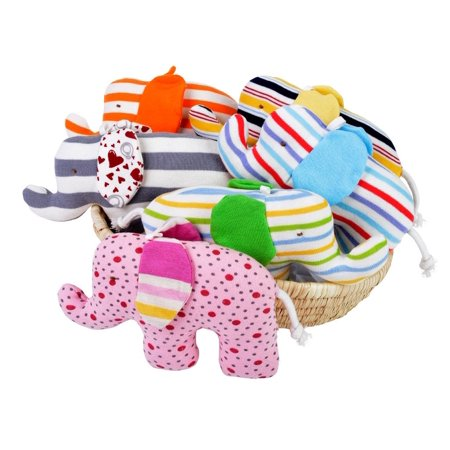 Under the Nile Organic Cotton Baby Toy Scrappy Elephant Girl (Nile Organic Cotton Elephant)
