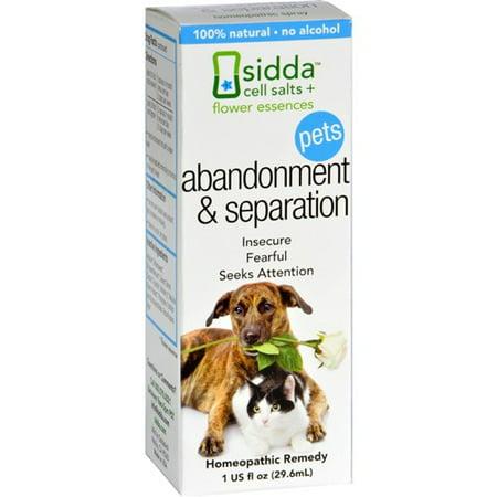 Pet Essences - Sidda Flower Essences Abandonment and Separation - Pets - 1 fl oz Pet Supplements