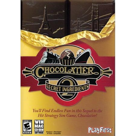 CHOCOLATIER 2: Secret Ingredients Strategy Sim Game (PC &