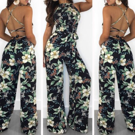 13a3477712 Emmababy - Fashion Women Ladies Clubwear Summer Playsuit Jumpsuit Romper  Long Pants Party Trousers - Walmart.com