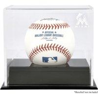 Miami Marlins Baseball Cube Logo Display Case