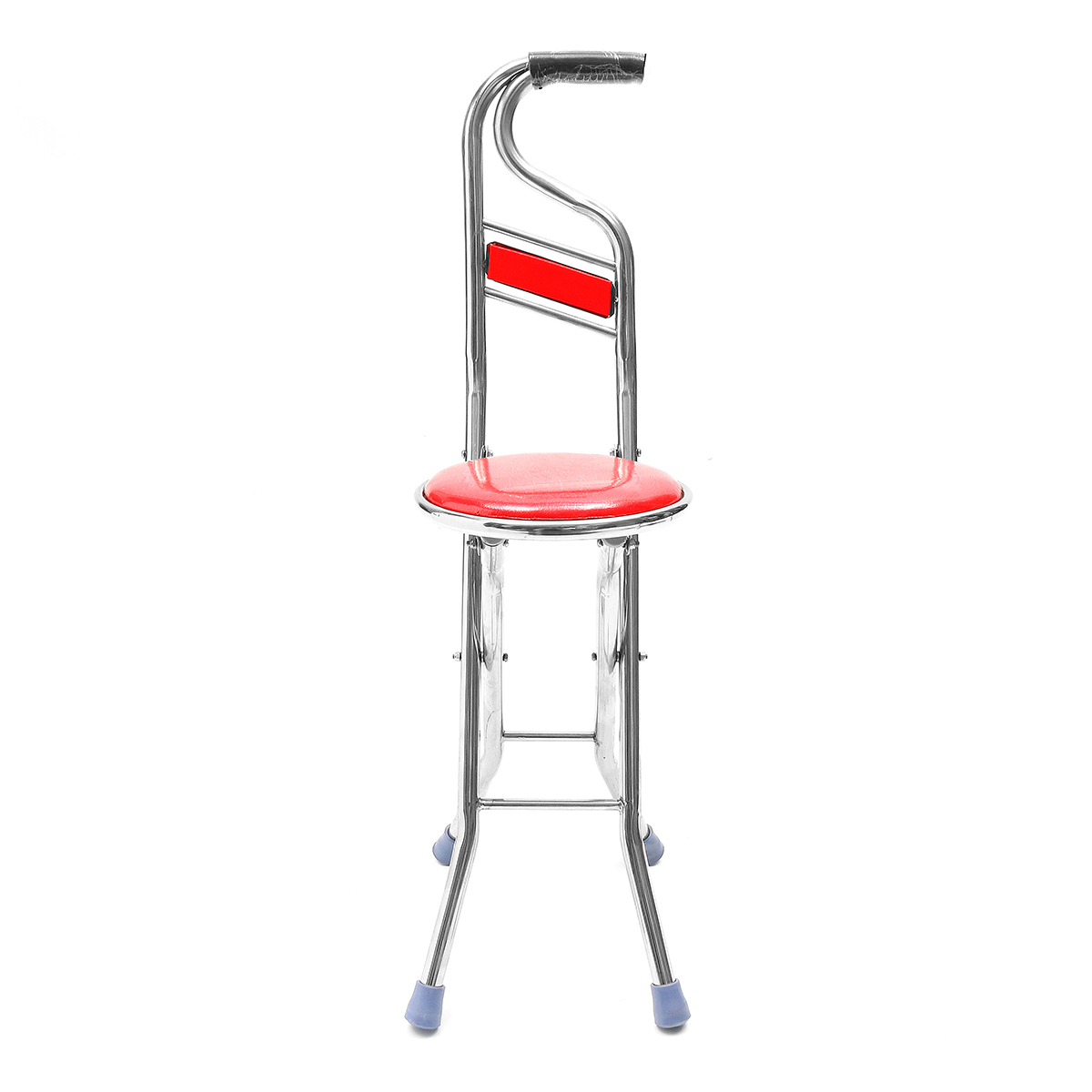Charmant Moaere 2 In 1Stainless Walking Cane Stick Elderly Care Portable Folding  Walking Stick Travel Cane With Chair Seat Stool