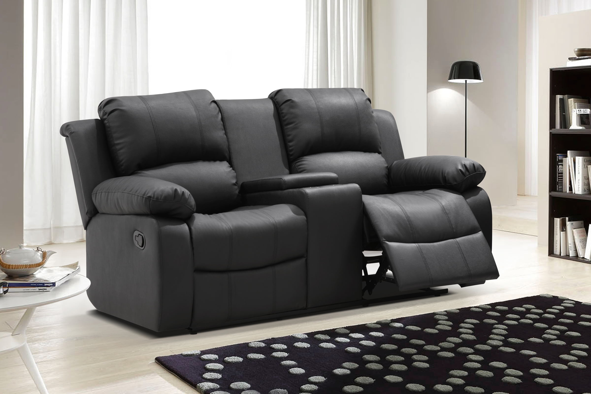 uts a loveseat leather fingerhut full for bennett nivrf to image over hover design mcleland reclining zoom scl product click look power