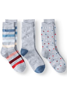 5c2d7d30a34 Product Image Stripe and Dot Crew Socks Women s