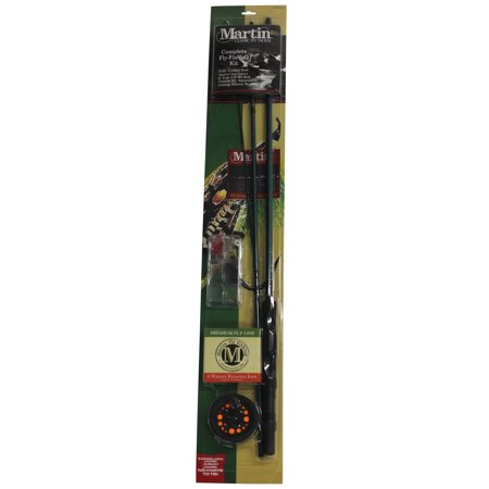 Zebco / Quantum Martin Complete Combo with Fly Assortment 2 Fly Rod Rod