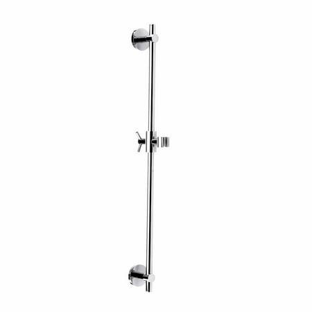 (Chrome Bathroom Handheld Slide Bar Heavy Duty Brass | Renovators Supply)