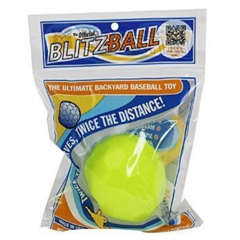 Blitzball Plastic Baseball by Blitzball