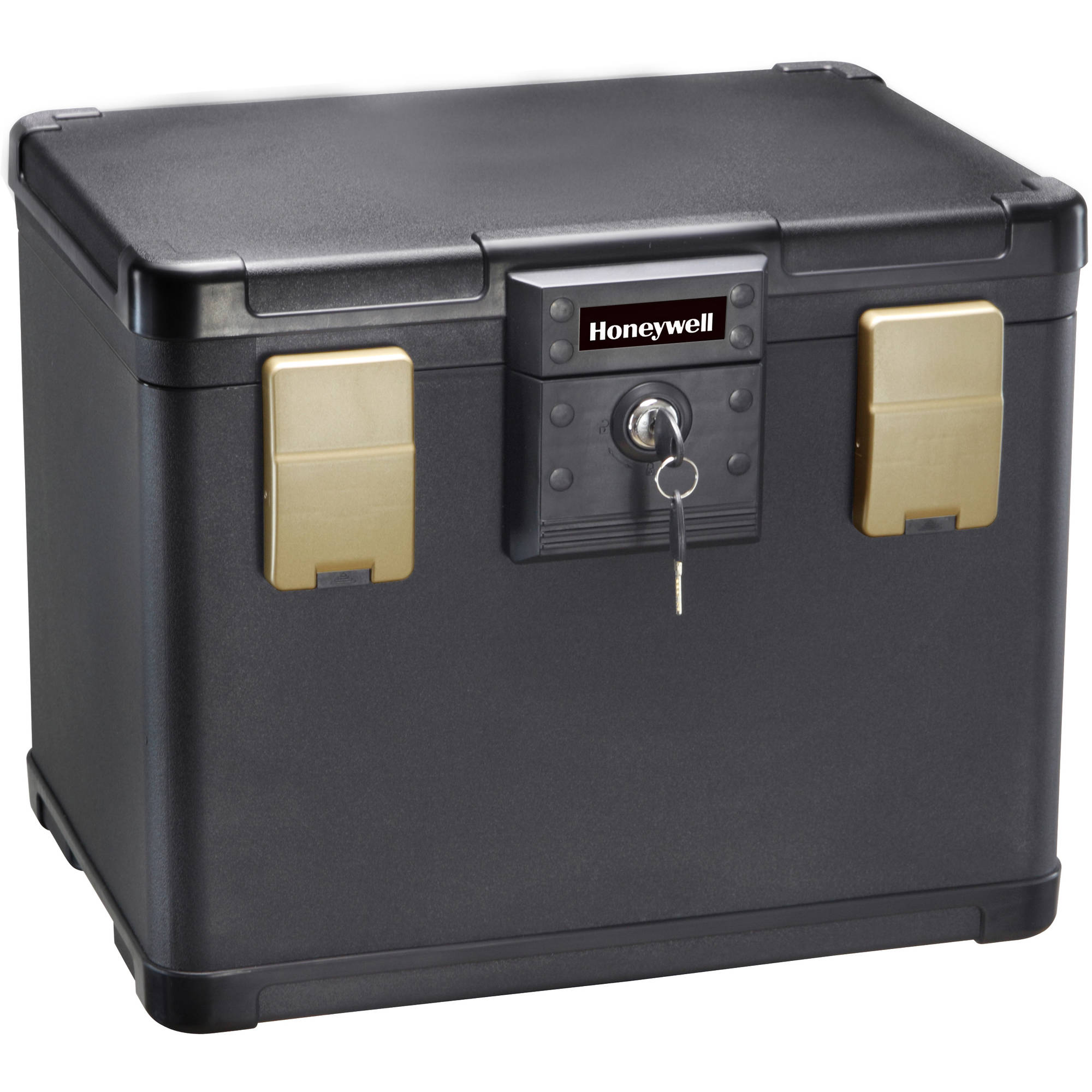 Honeywell 0.6 cu. ft. Waterproof 30-Minute Fire Chest with Key Lock, 1106