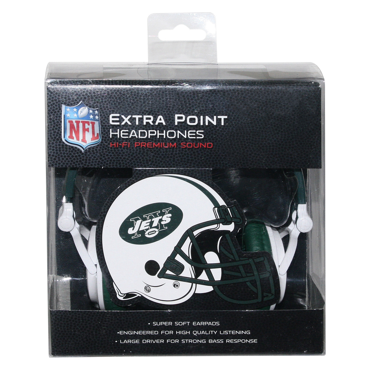 NFL New York Jets iHip Slim DJ Headphones