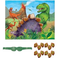 Dinosaur Party Game, 12 Players, 14pcs