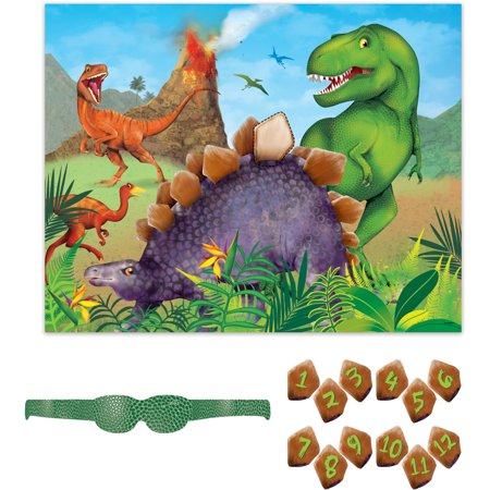 Dinosaur Party Game, 12 Players, - Dinosaur Party Games