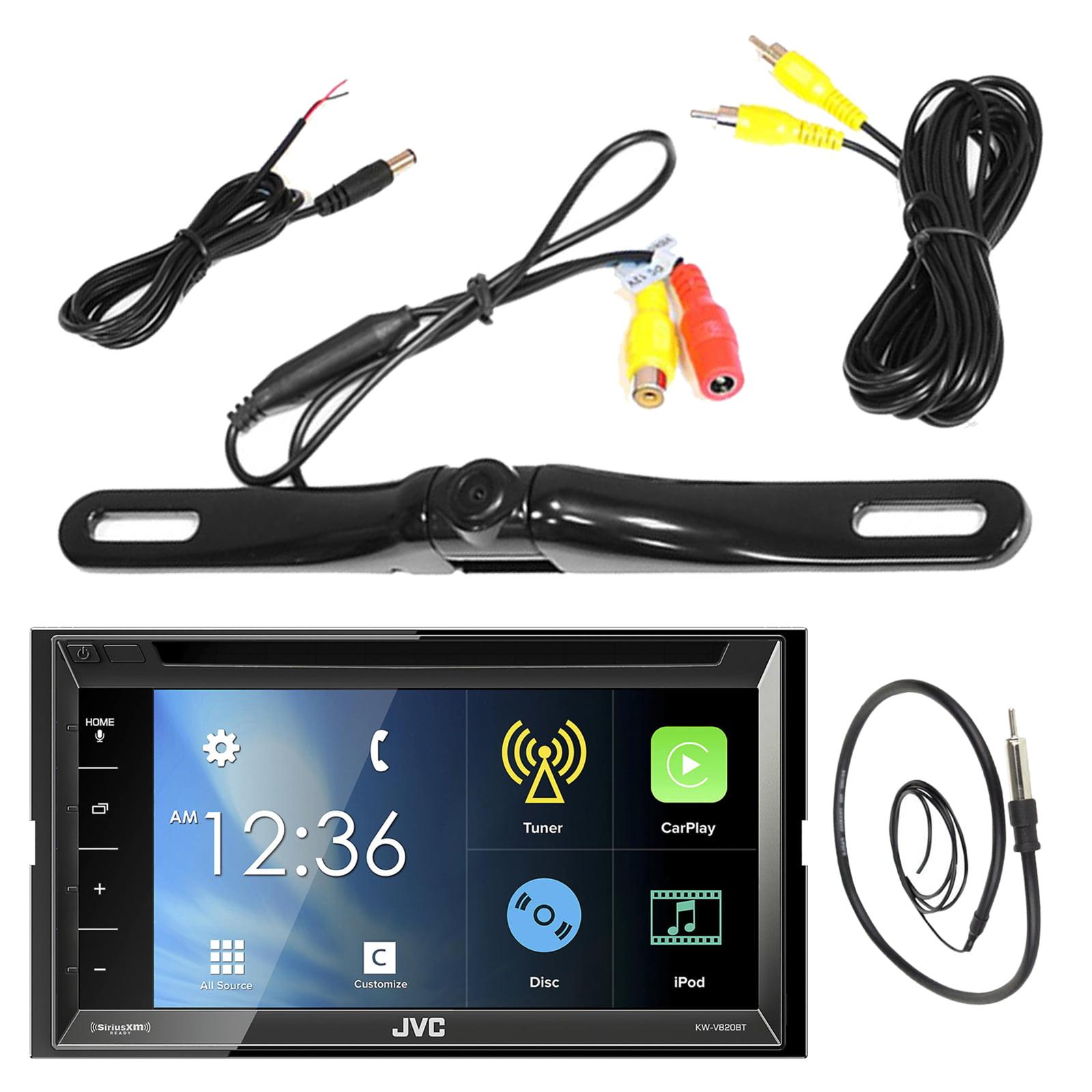"""JVC KW-V820BT 6.8"""" Touch Screen Display Car CD DVD USB Bl..."""