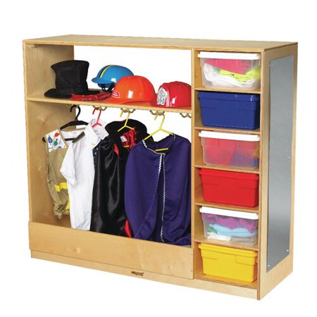 Childcraft Dress-Up Double Sided 6 Compartment Cubby