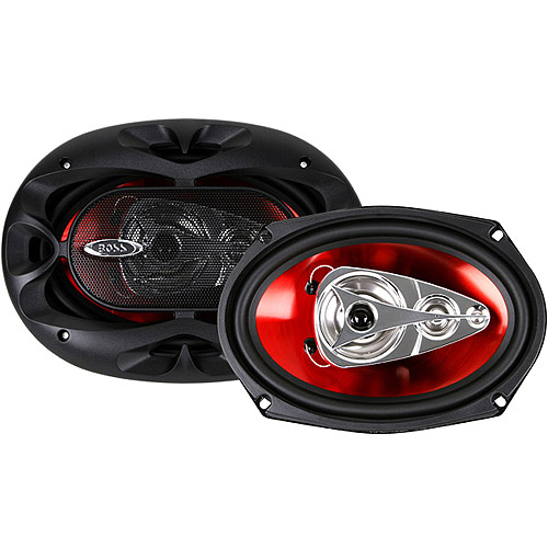 "Boss Audio 6"" X 9"" 4-Way, Car Speakers Full Range Chaos Speakers (Pair of Speakers)"