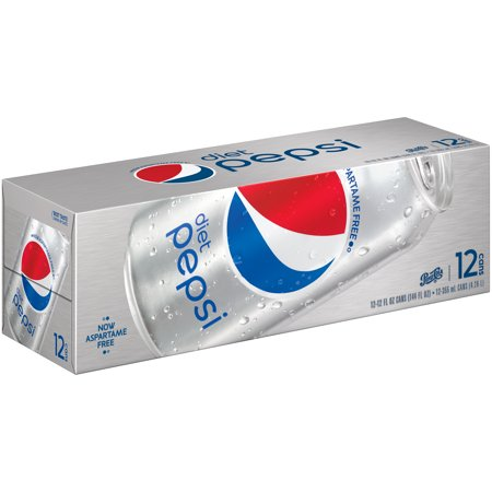 Diet Pepsi, 12 Count, 12 fl oz Cans