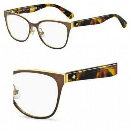 8d1b671437 Eyeglasses Kate Spade Vandra 0WR9 Brown Havana - Walmart.com