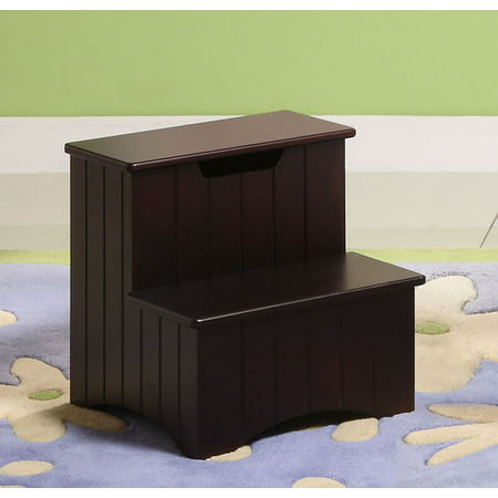 Mara Merlot Wood Contemporary 13 X 13 Inch Bedroom Storage