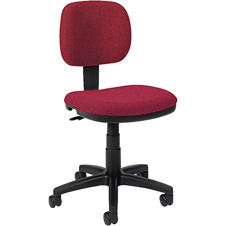 Basyx Light Use Mid Back Fabric Task Chair Without Arms