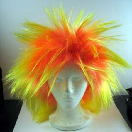 Yellow Clown Wig (Loca Small Clown Wig -)