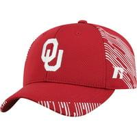 Men's Crimson Oklahoma Sooners Uptempo Adjustable Hat - OSFA