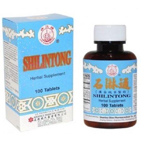 3 boîtes Shilintong, supplément à base de plantes pour la santé des voies urinaires (100 comprimés)