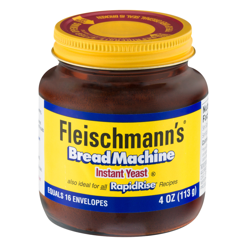 Fleischmann's Bread Machine Instant Yeast, 4.0 OZ