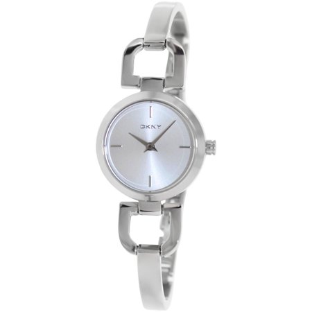 Dkny Women's D-Link NY8540 Silver Stainless-Steel Analog Quartz Fashion Watch