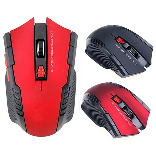Girl12Queen 2.4Ghz Mini Portable Wireless Optical Gaming Mouse for PC Laptop