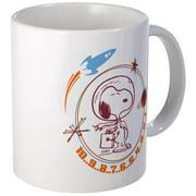 CafePress Snoopy Blast Off Mugs Unique Coffee Mug, Coffee Cup CafePress by