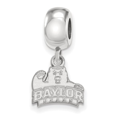 Baylor Bead Charm Extra Small (3/8 Inch) Dangle (Sterling