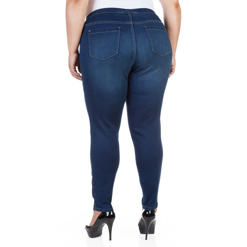 Faded Glory Women's Plus-size Denim Jegg - Walmart.com