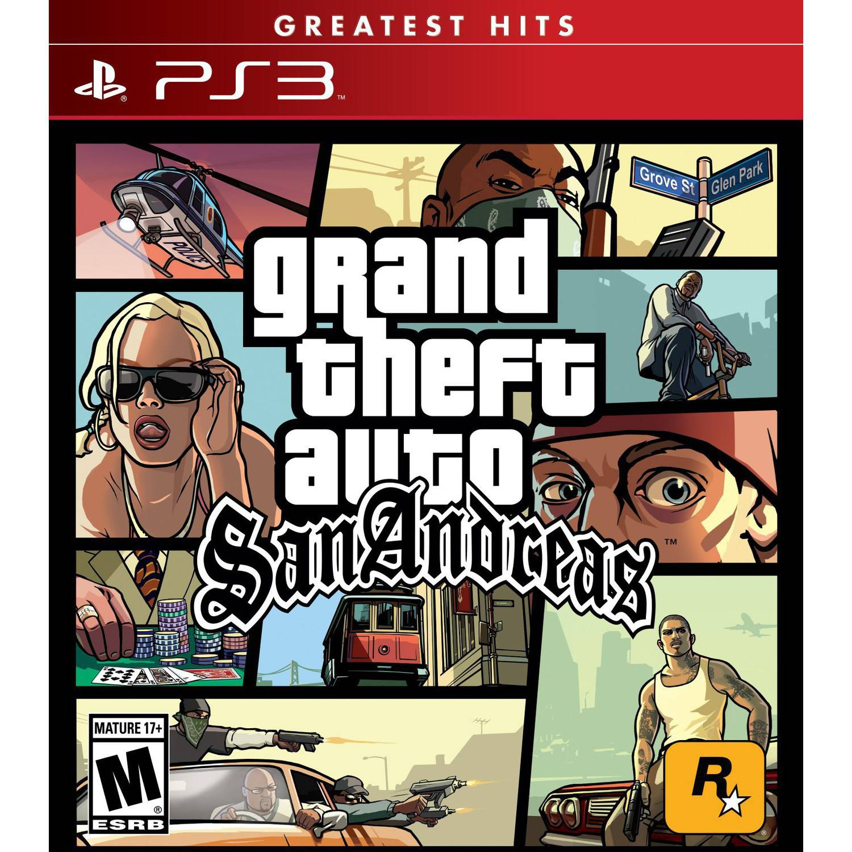 Grand Theft Auto: San Andreas, Rockstar Games, PlayStation 3, 710425476938