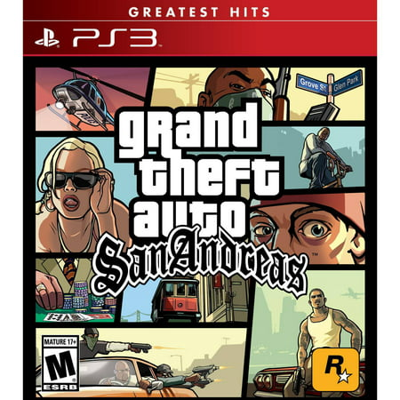 Grand Theft Auto: San Andreas, Rockstar Games, PlayStation 3, 710425476938