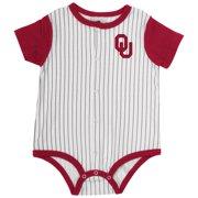 Infant Oklahoma Sooners Baseball Pinstripe Bodysuit - 0 to 3 Months