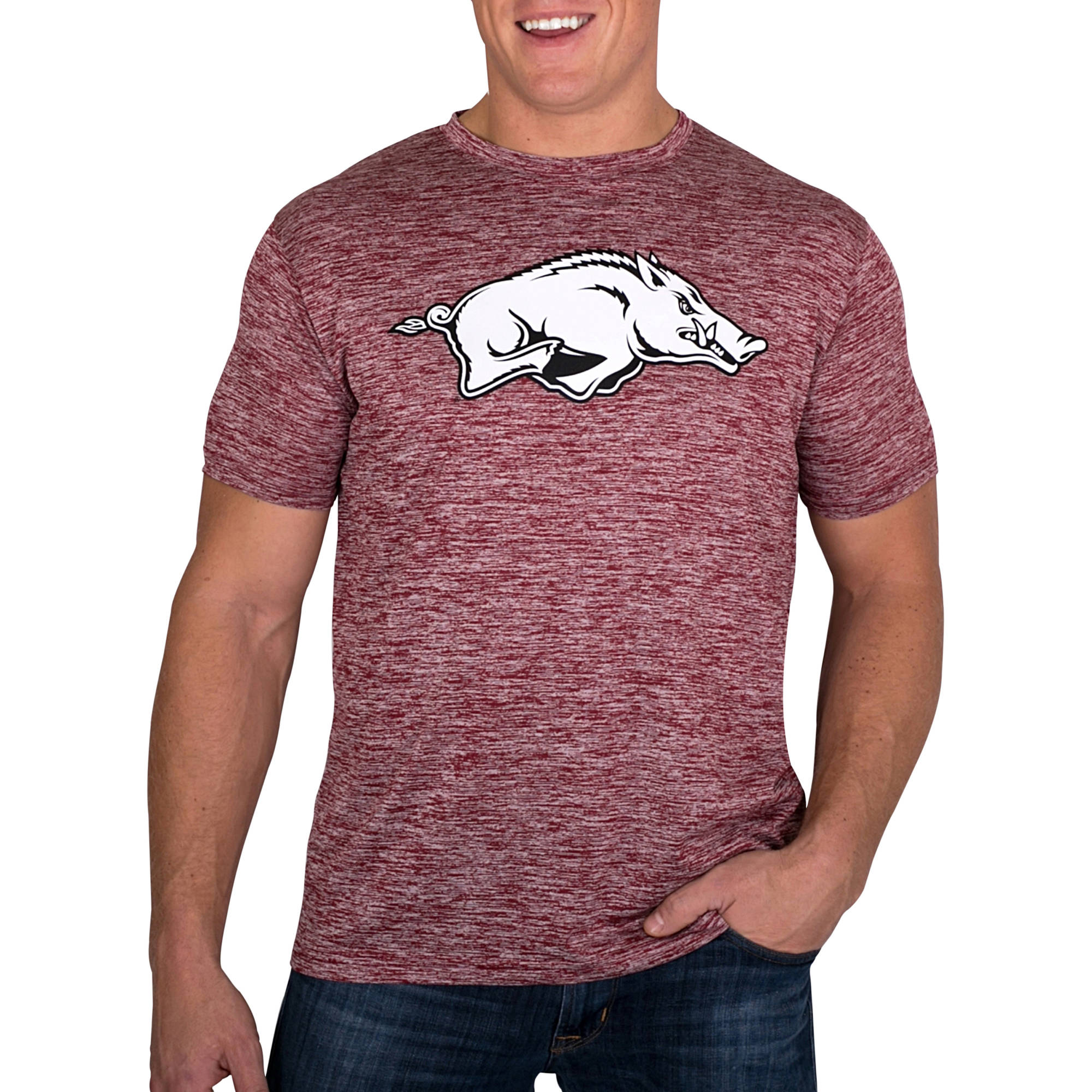 Russell NCAA Arkansas Razorbacks Men's Impact T-Shirt