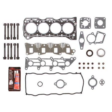Evergreen HSHB8002 Head Gasket Set Head Bolts Fit 95-97 Geo Metro 1.3 SOHC 8V VIN 9, G13BA