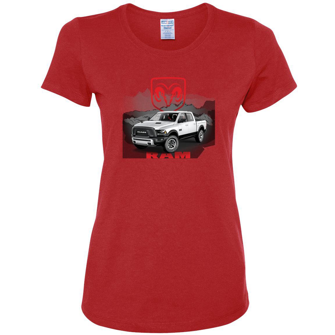 Dodge Ram Red Truck Sweatshirt Heavy Duty Pickup Truck Sweater