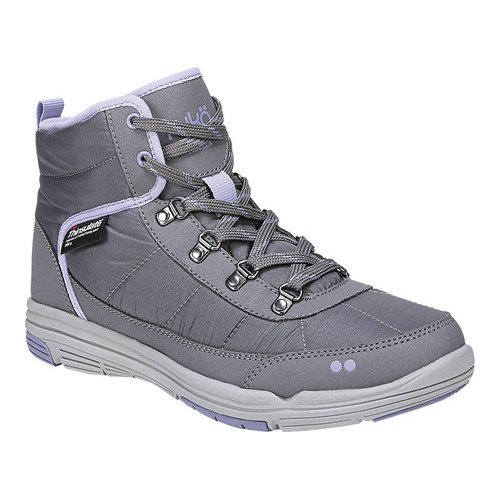 Ryka Women's Adella Fashion Boot, Slate Grey/Amethyst/Sconce Grey, 6 M US